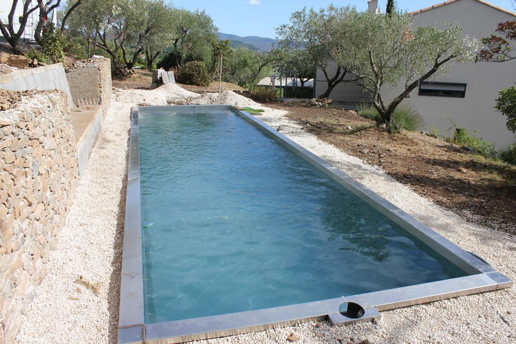 Inox Pool Couloir de nage à Alès